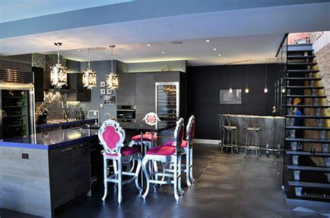 coin repas cuisine banquette angle cuisine moderne à l ameublement baroque remis au goût du
