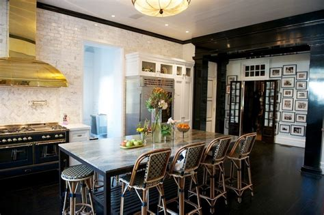 kitchen island instead of table cococozy exclusive all that glitters is brass in this 8188