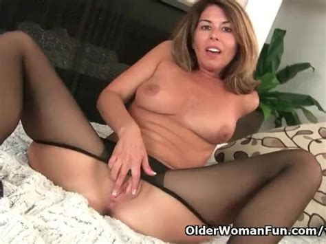 American Milf Niki Will Whet Your Appetite For Her Pantyhosed Pussy Free Porn Videos Youporn