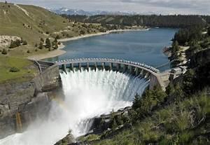 Diagram Of Hydro Dam