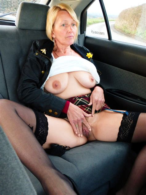 older women Ready For sex Everywhere Even In A Car mature Drivers Granny Amateur