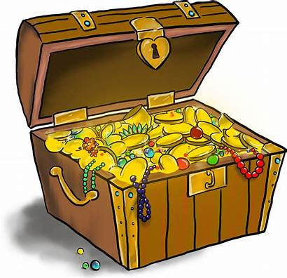 Transparent Treasure Chest Clipart Buried Drawing Title