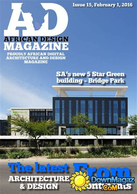 Decor Magazines South Africa by Design February 2016 187 Pdf Magazines