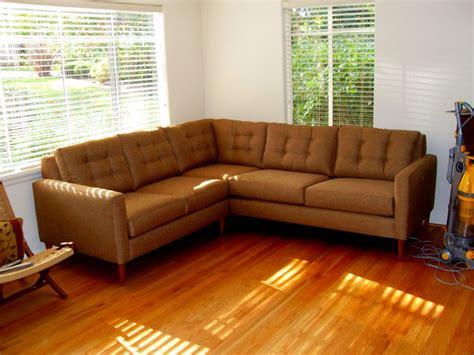 mid century modern sectional sofa modern mid century sofa buying tips traba homes