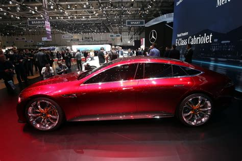 Mercedes Amg Gt Concepts Drops By Geneva Dubai Abu