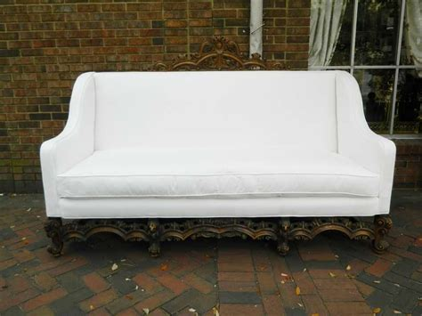 canapé sofa italia 19th century renaissance revival canape or sofa