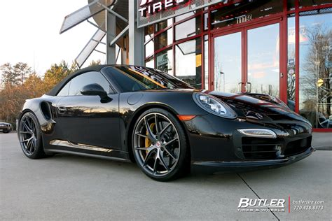 911 Turbo S Wheels by Porsche 991 911 Turbo S With 21in Hre P101 Wheels