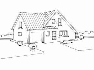 coloriage maison 7 tipos de vivienda pinterest With dessin de belle maison