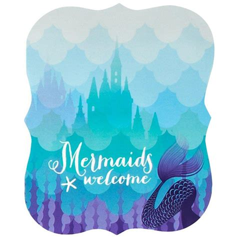 baby birthday dress mermaids the sea invitations 8 birthdayexpress com
