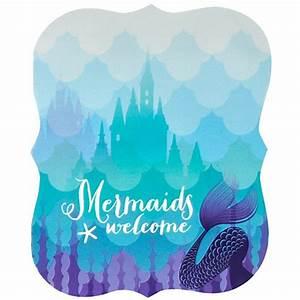 Mermaids Under the Sea Invitations (8) BirthdayExpress com