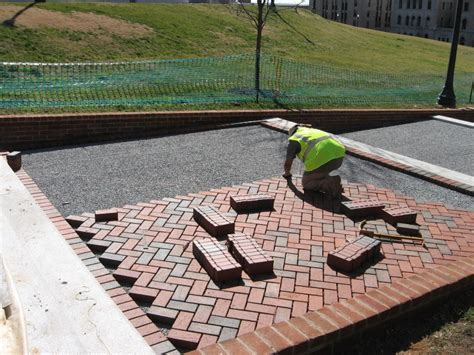 porous brick pavers permeable paver chesapeake stormwater network