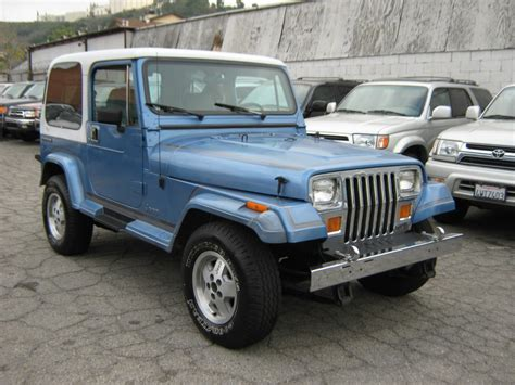 jeep laredo 1989 jeep wrangler yj laredo for sale