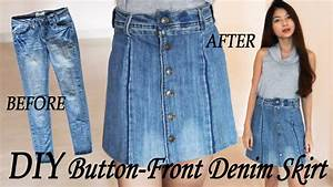 How To Make A Denim Skirt From Jeans - First Butt Sex