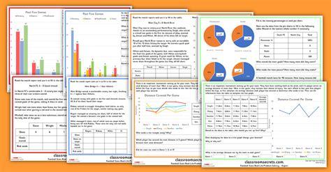 ks2 statistics worksheets football reasoning classroom