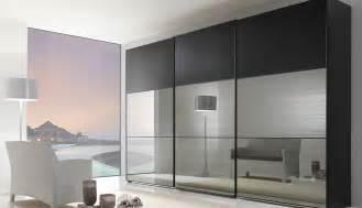 Wardrobe Closet With Mirror Doors by Modern Mirror Sliding Wardrobe Closet Door With Three
