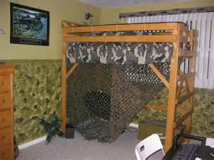 Bedroom with Loft Bed Ideas