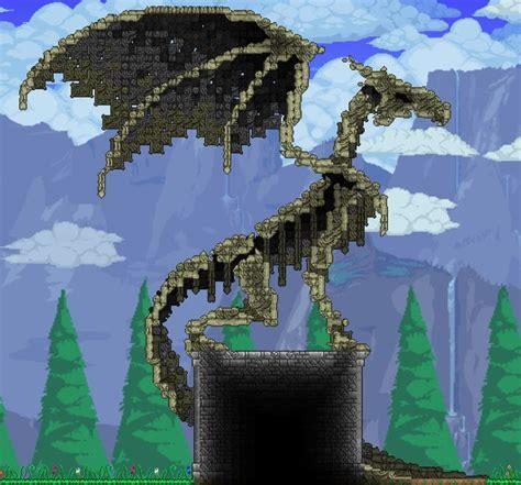 bone dragon terraria terraria house design