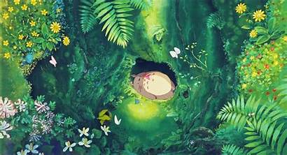 Totoro Ghibli Studio Garden Salvo Uploaded Kunjungi