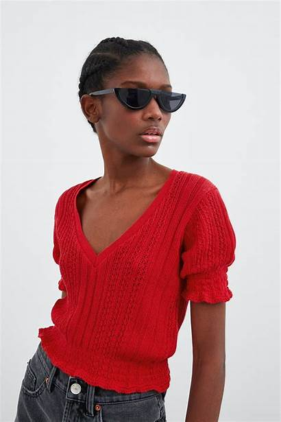 Zara Elastic Trims Sweater