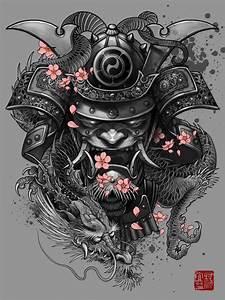 Samurai Dragon by Elvin yong   oriental   Pinterest ...