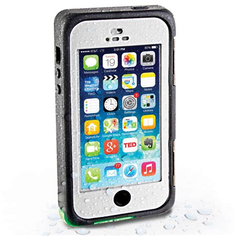 the waterproof iphone 5 5s se hammacher schlemmer
