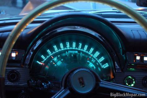 Chrysler 300 Dashboard Lights by Chrysler Electroluminescent Dashboard Lighting Bigblockmopar
