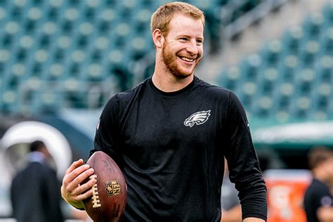 carson wentz wife girlfriend height weight family