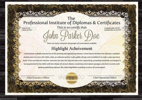 modern certificate examples samples  word