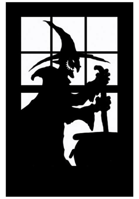window silhouettes halloween hd  gallery