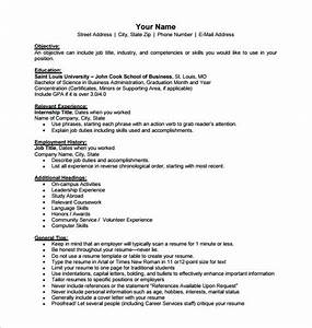 business resume template 11 free word excel pdf With company resume