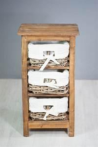 Meuble Bois Exotique : containers du monde meuble colonne en bois exotique 3 ~ Premium-room.com Idées de Décoration