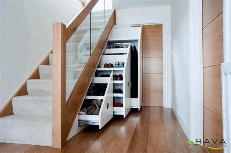 stairs kitchen storage 10 stair storage ideas that make your house look 6569