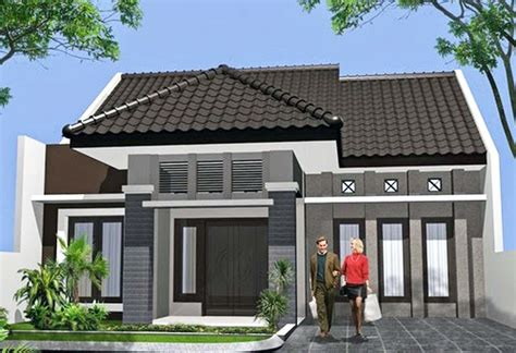 desain rumah sederhana  minimalis ndik home