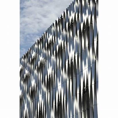 Facade Fins Instagram Aluminium Twisted Cladding Metal