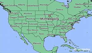 Where Is Minneapolis  Mn     Minneapolis  Minnesota Map