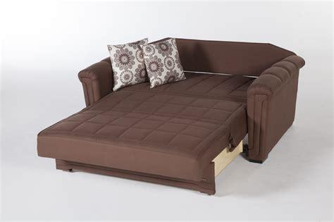 loveseat sofa sleepers obsession truffle microfiber loveseat sleeper by