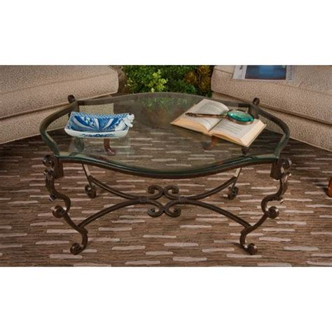 iron coffee table dessau home bronze acanthus leaf iron coffee table with 1926