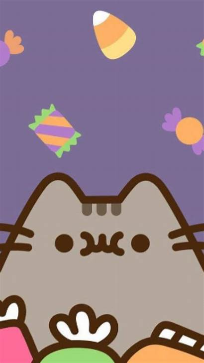 Pusheen Wallpapers Iphone Cat Halloween Backgrounds Kolpaper