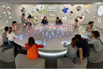 Interactive Experience Nest Exhibition Space Switzerland Nestle