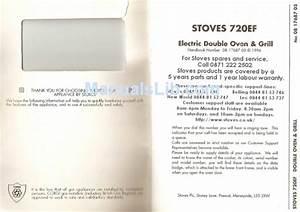 Stoves 720ef Instruction Manual Pdf Download
