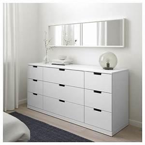 Ikea Kommode Nordli : nordli 9 drawer chest white ikea ~ A.2002-acura-tl-radio.info Haus und Dekorationen