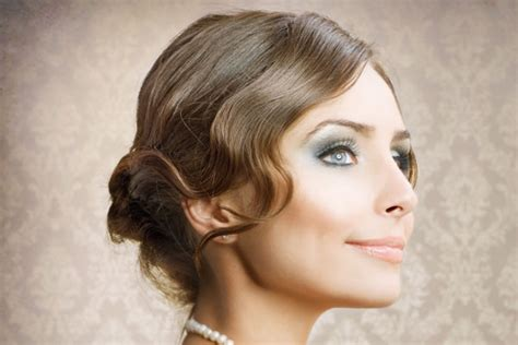 Finger Wave Prom Hairstyles