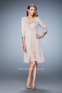 la femme 21903 wedding guest dress with jacket french novelty With jacket dresses for wedding guest