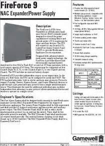 Ff9 Datasheet  Power Supply
