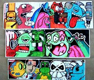 graffiti collabs stickers by wizard1labels on DeviantArt