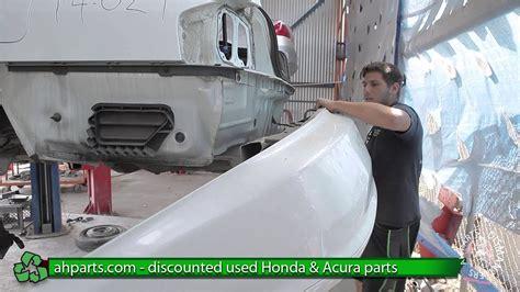replace change  rear bumper