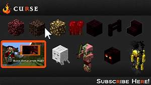 Minecraft Areas The Nether Hub YouTube