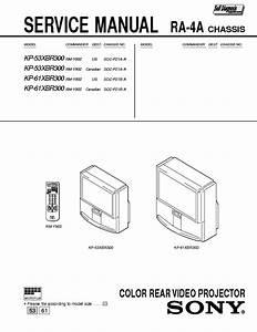 Sony Kp 46c3648s3553s3561s35 Service Manual