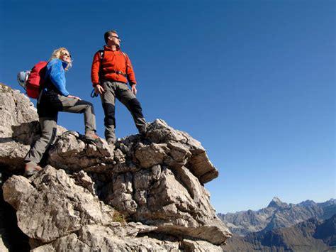Klettersteig In Oberstdorf Im Allgäu  Klettern Im