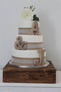 Rustic wedding cake toppers personalised cake toppers for Wooden letter cake toppers